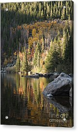 Bear Lake Acrylic Print by Marta Alfred