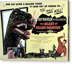 Beast Of Hollow Mountain, 1956 Acrylic Print by Everett