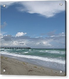 Beatiful Beach Acrylic Print