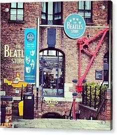 #beatles #thebeatlesstory #thebeatles Acrylic Print