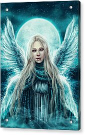 Beautiful Angel Acrylic Print