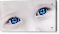 Beautiful Baby Blue Eyes Acrylic Print