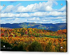 Beautiful Blue Ridge Mountains Acrylic Print