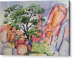 Beautiful Boulders Acrylic Print
