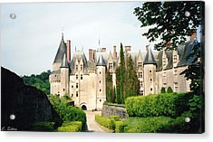 Beautiful Chambord Castle Acrylic Print