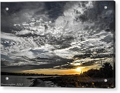 Acrylic Print featuring the photograph Beautiful Days End by Shannon Harrington