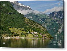 Beautiful Geiranger Norway Acrylic Print