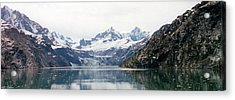 Beautiful Glacier Bay Acrylic Print