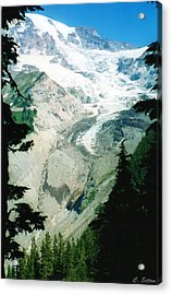 Beautiful Glacier Acrylic Print