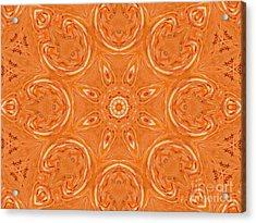 Beautiful Orange Acrylic Print by Jeannie Atwater Jordan Allen