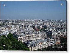 Beautiful Paris Acrylic Print by David Peters
