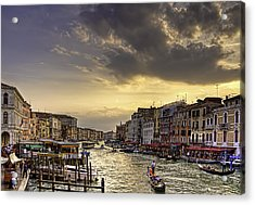 Beautiful Rialto Acrylic Print