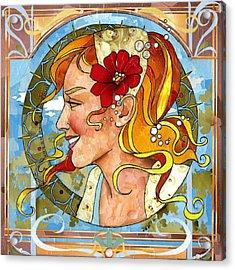 Beautiful Acrylic Print by Robin Birrell