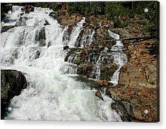 Beautiful Rush Glen Alpine Falls Acrylic Print
