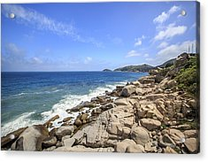 Beautiful Sea View Acrylic Print by 712