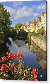Beautiful Tuebingen In Germany Acrylic Print