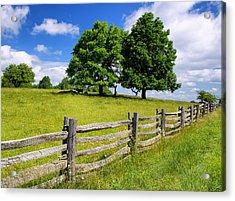 Beautiful Virginia Pasture Acrylic Print