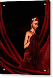 Beautifully Red Acrylic Print