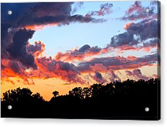 Beauty Before The Beast Acrylic Print by Mike Stouffer