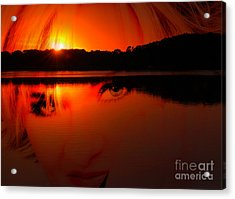 Acrylic Print featuring the photograph Beauty Looks Back by Clayton Bruster