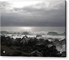 Beauty Of The Storm Acrylic Print by Cheryl Perin