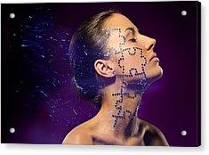 Beauty Puzzles Acrylic Print by Pavlo Kolotenko