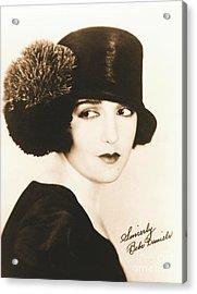 Bebe Daniels 1925 Acrylic Print by Padre Art