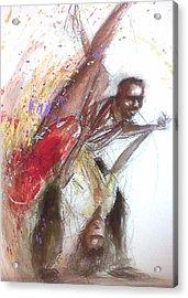 Bebop Dancers Acrylic Print