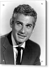 Because Of You, Jeff Chandler, 1952 Acrylic Print