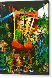 Becoming One With The Memories Acrylic Print by Lenore Senior and Dawn Senior-Trask