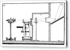 Becquerel Phosphoroscope, 19th Century Acrylic Print by