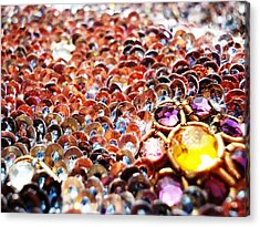 Bed Of Sequins Acrylic Print