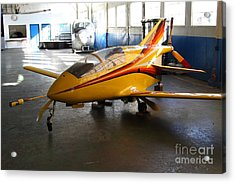 Bede 5 . Bd5-b . Kit Airplane Using Honda And Mazda Engines . 7d11166 Acrylic Print by Wingsdomain Art and Photography