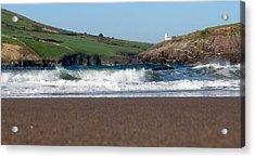 Acrylic Print featuring the photograph Beenbane Beach by Barbara Walsh