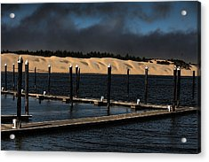 Before The Storm Acrylic Print by Bonnie Bruno