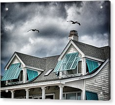 Before The Storm Acrylic Print by John Pagliuca