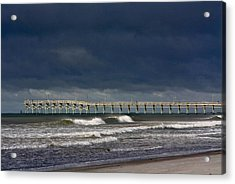 Acrylic Print featuring the photograph Before The Storm by Laurinda Bowling