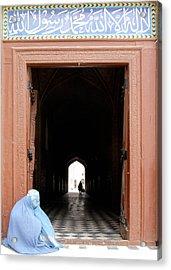 Beggar Woman Acrylic Print