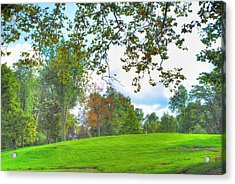 Acrylic Print featuring the photograph Beginning Of Fall by Michael Frank Jr