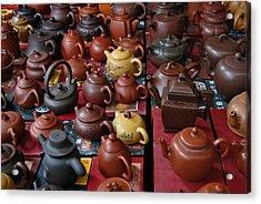 Beijing Teapots Acrylic Print