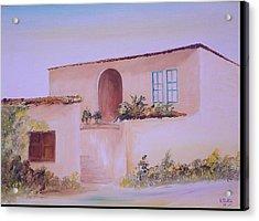 Bekaa House Acrylic Print by Nabil Wehbe
