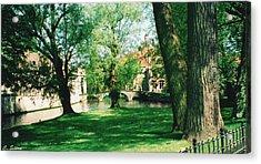 Belgian Park Acrylic Print