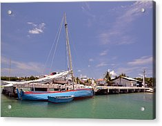 Belize Sailor Acrylic Print