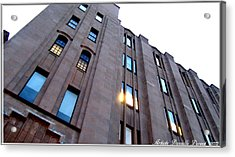 Bell Building Acrylic Print by Danielle  Parent