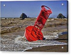 Bell Buoy Acrylic Print by Garry Gay