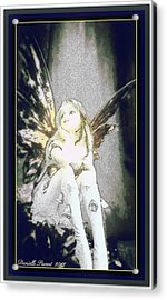 Bell Fairy  Acrylic Print by Danielle  Parent