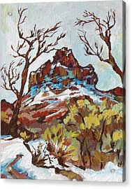 Bell Rock 3 Acrylic Print by Sandy Tracey