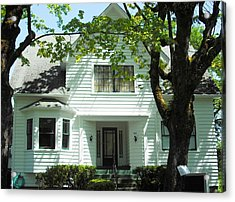 Bella Swan House Saint Helens Acrylic Print by Kelly Manning