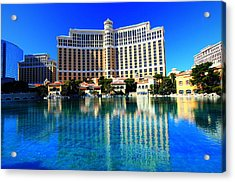 Bellagio Waters Acrylic Print