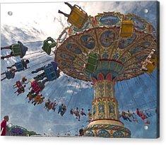 Belle Epoque Fair Acrylic Print by Miguel Valvano
